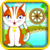 Greg Garrison - A Cute Kitten Jump Adventure Game: Blast Kitty from Cannon to Spinning Wheels artwork
